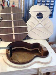 Gitarrenbeleistung Hans Eckert